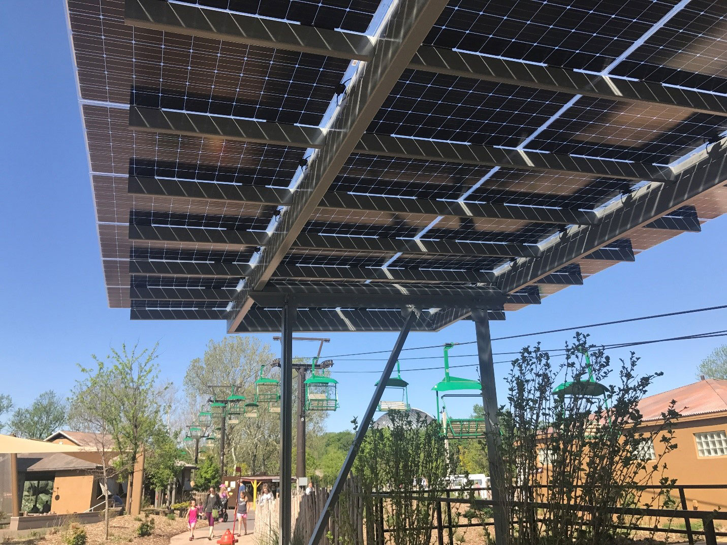 Design Features Of The New Henry Doorly Zoo Solar Array