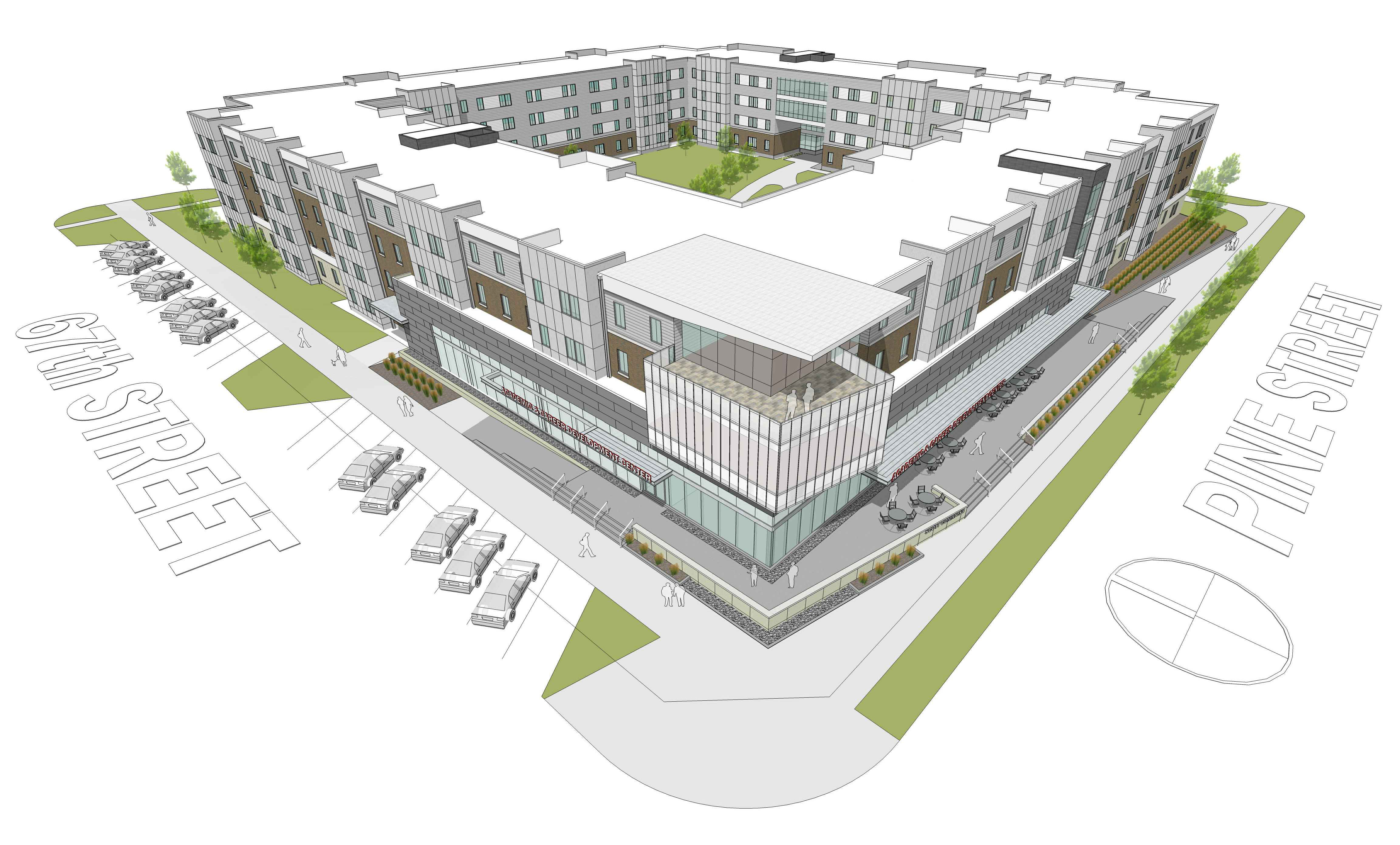 Wonderful The University Of Nebraska At Omaha Plans To Add Additional Housing And  Parking.